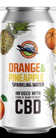 Orange & Pineapple can