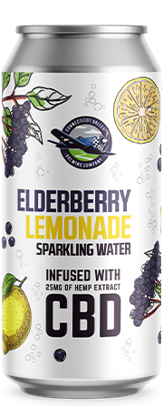 Elderberry Lemonade can