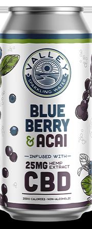 Blueberry Acai can